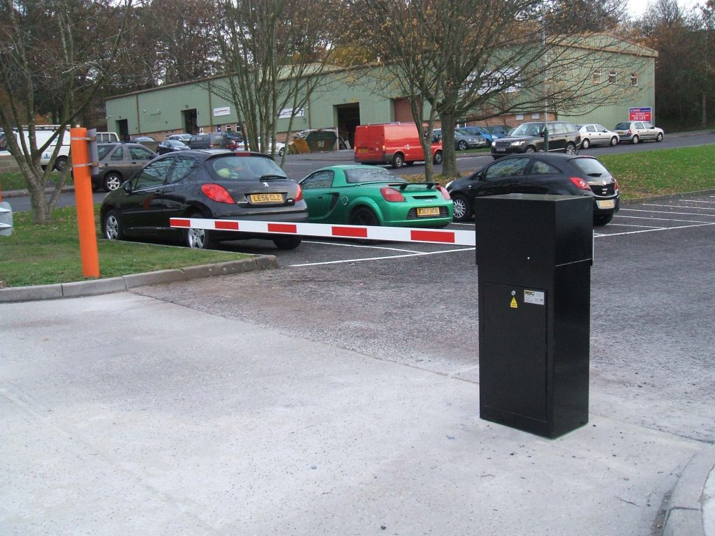Rising Arm Parking Barrier