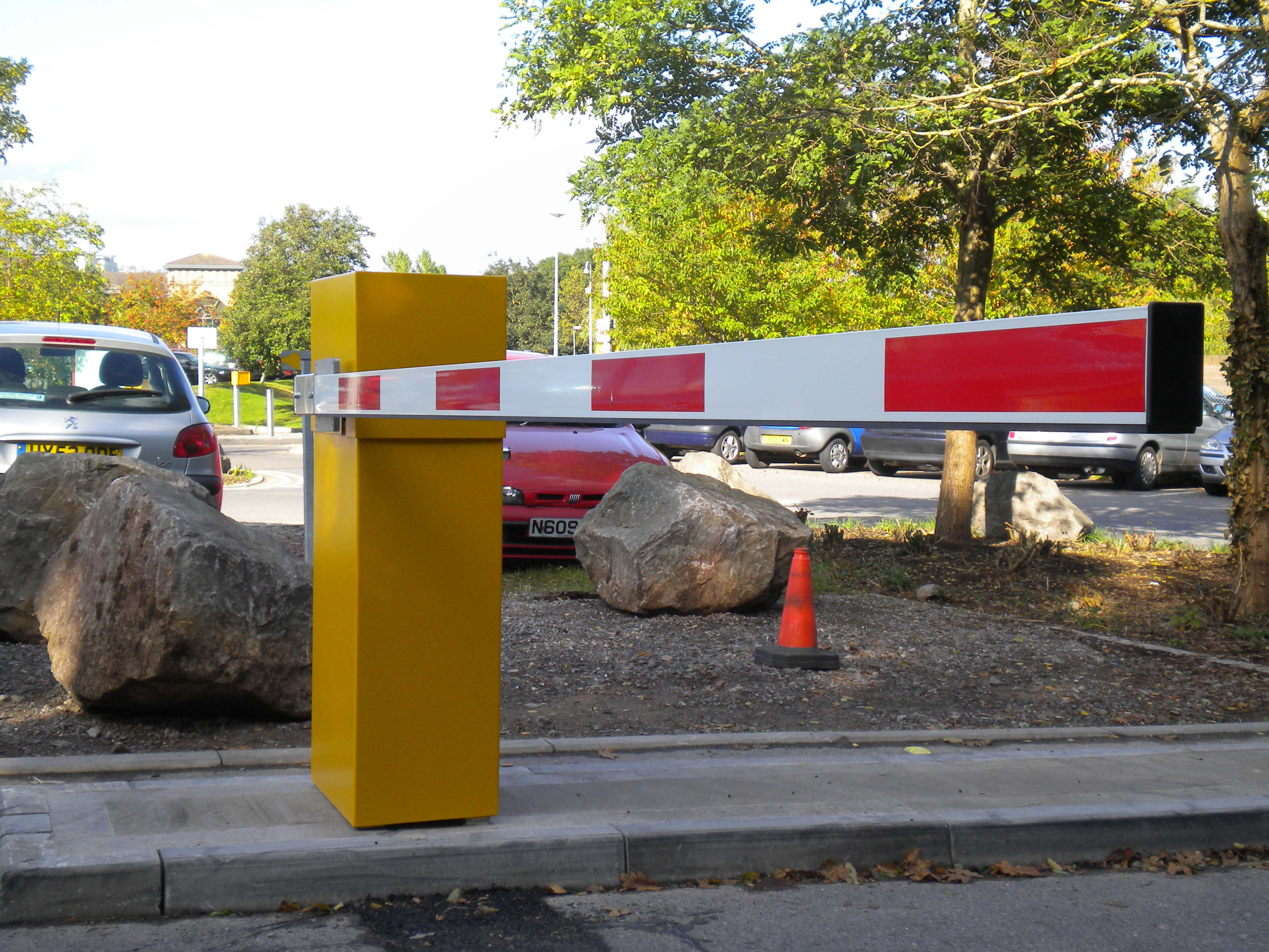 Eb450 Parking Barrier Rising Arm Barrier Vehicle Access