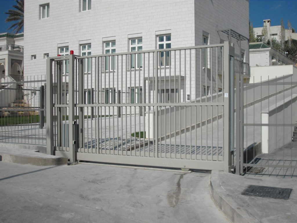 Ground Tracked Sliding Gates