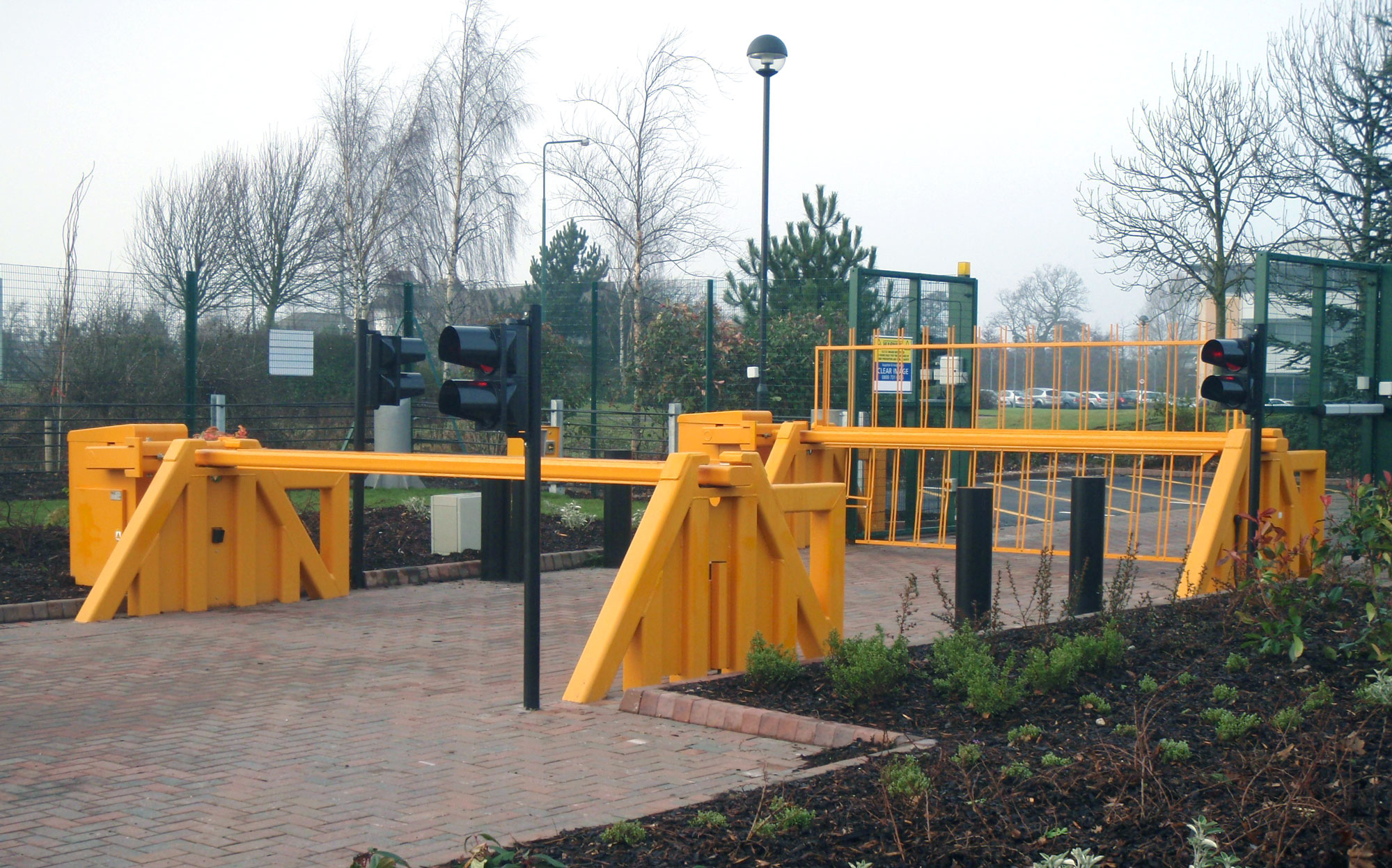Vehicle Control Barriers Pas 68 Barriers Security Barriers