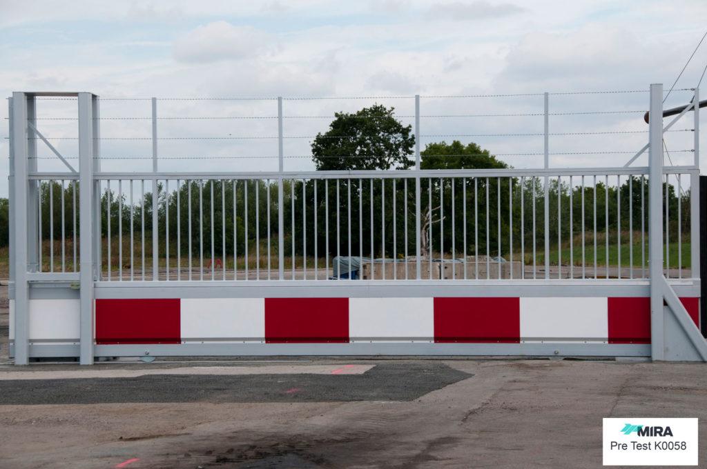 SG1100CR 7m sliding Gate PAS 68
