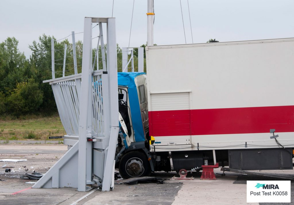 PAS 68 Impact tested sliding gate