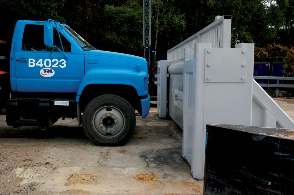 ASTM 2656 Avon SG1500CR Armoured vehicle gate
