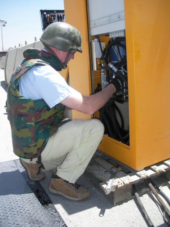 Installation in hostile locations