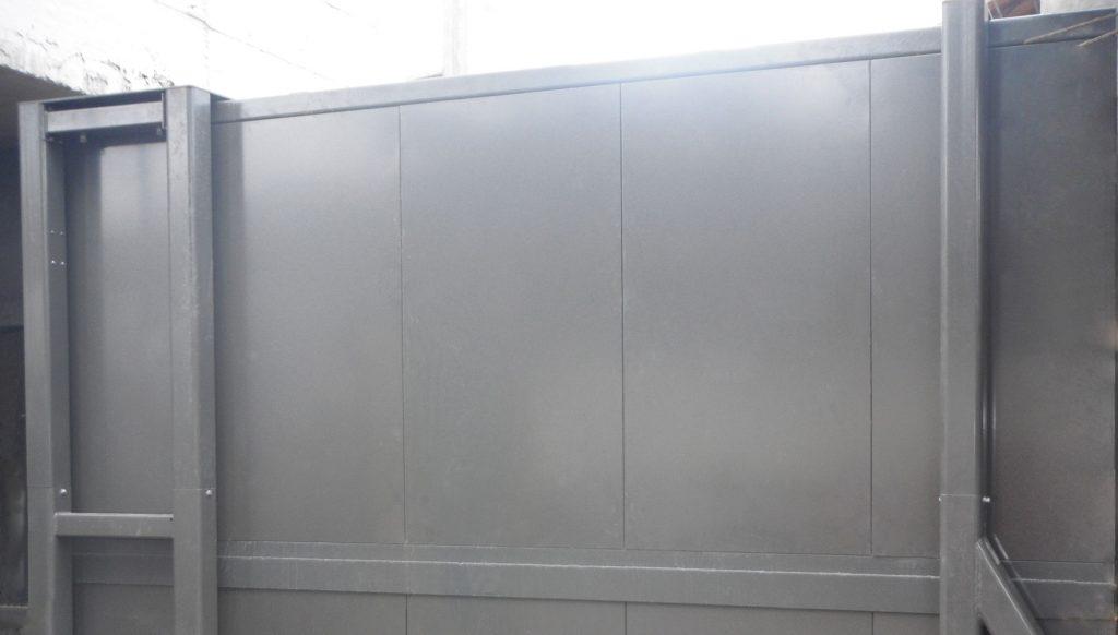 Avon FB6 Garrison Ballistic Protection Gate sliding gate BS EN1522:1999