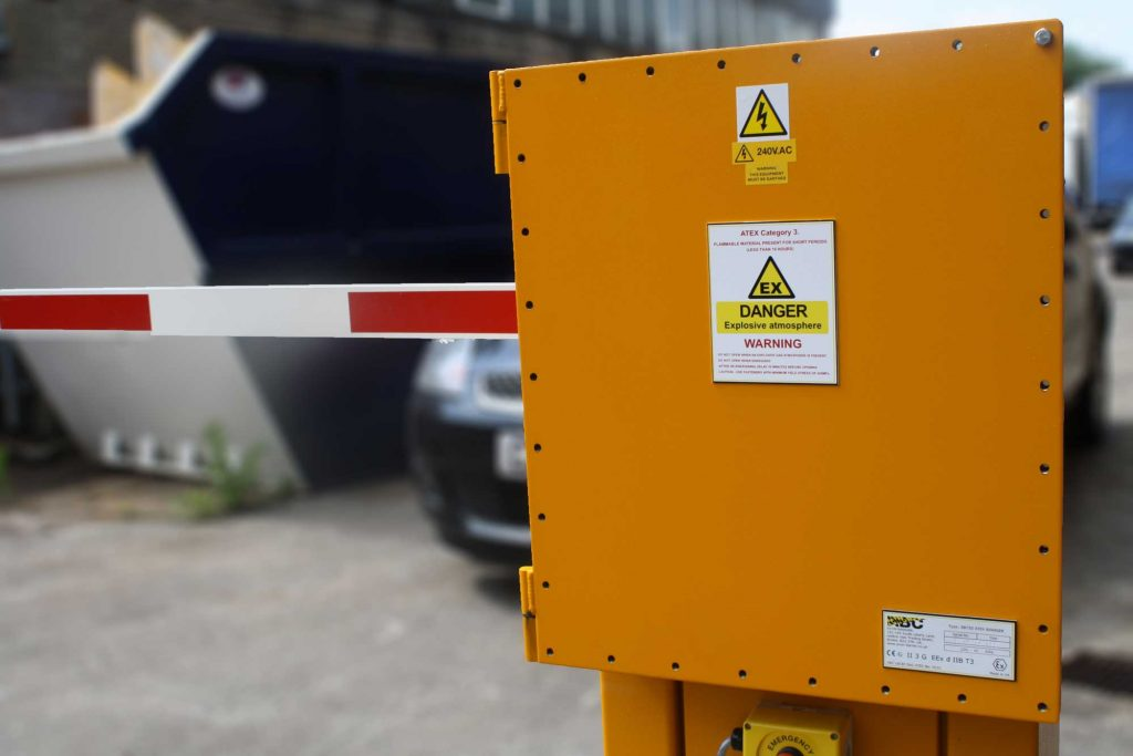 ATEX Access Control Barrier