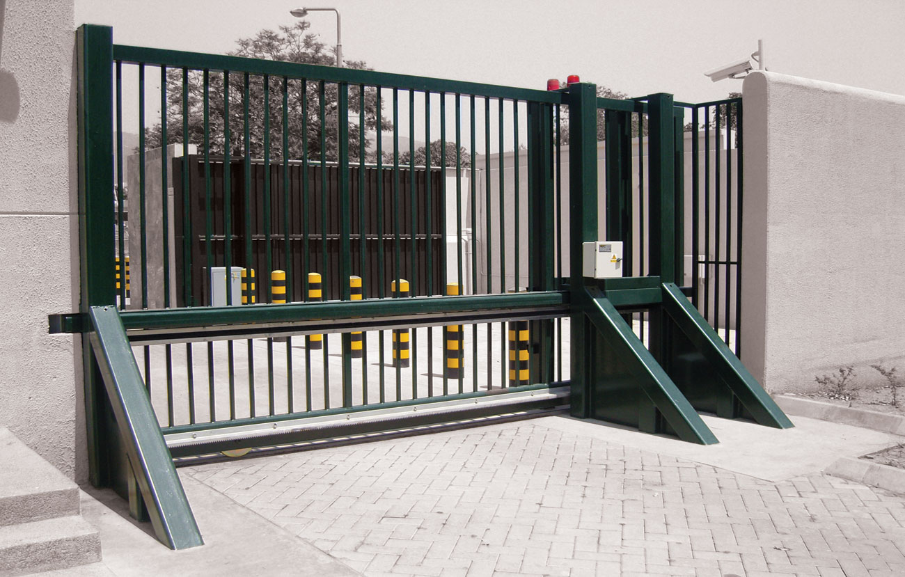 Avon sg cr armoured vehicle gate barrier