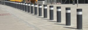 SSF100 super shallow static bollards