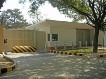 Embassy entry point protection