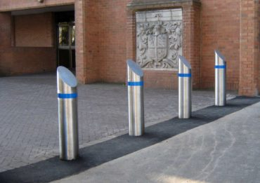 PAS 68 Bollards for Rail