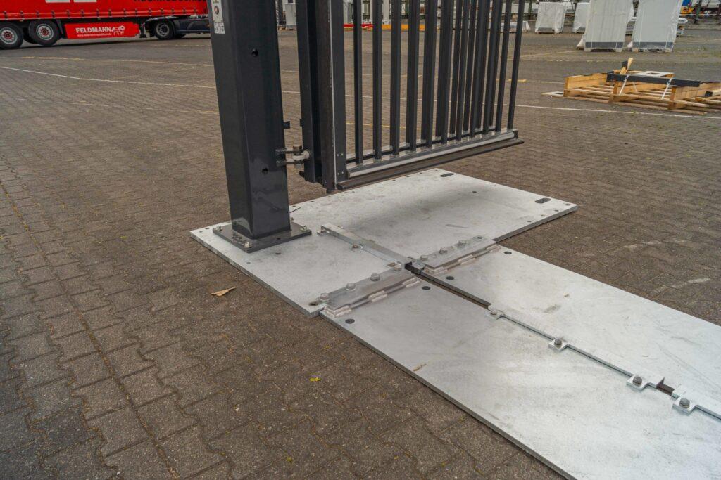 EntraQuick-Mobile temporary gate
